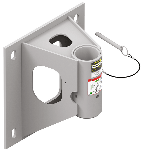Wall adapter with 203 millimetre offset