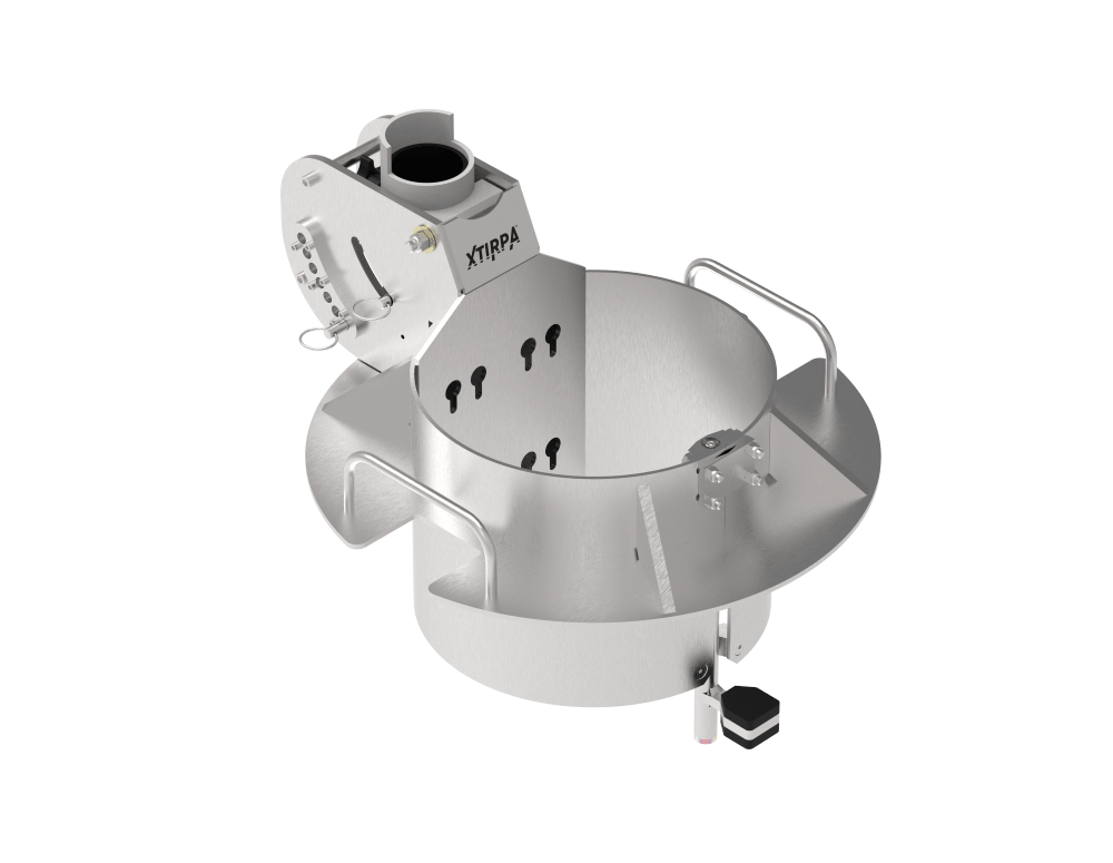 manhole collar for confined space access and rescue