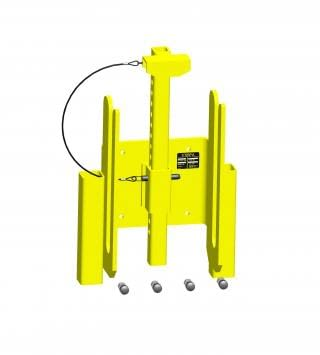 Xtirpa ladder adapter with centred locking system