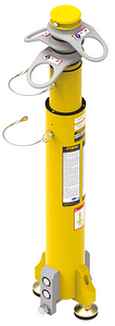 Fall arrest mast for up to 3 people