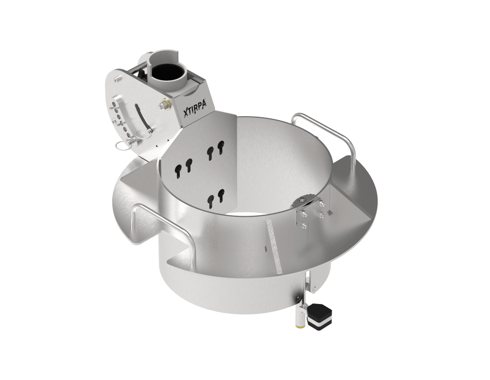xtirpa manhole connector for davits