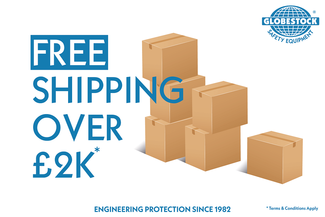 Free shipping over £2000