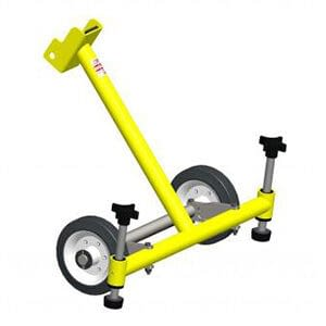 Xtirpa stabiliser with wheels for manhole guard