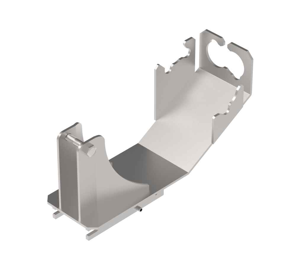 bracket for fitting a fall arrest to xtirpa