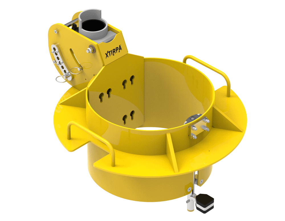 EN795 man hole collar for confined space access and rescue