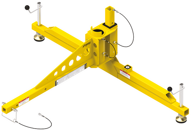 Hitch mount with 1524 millimetre stabiliser
