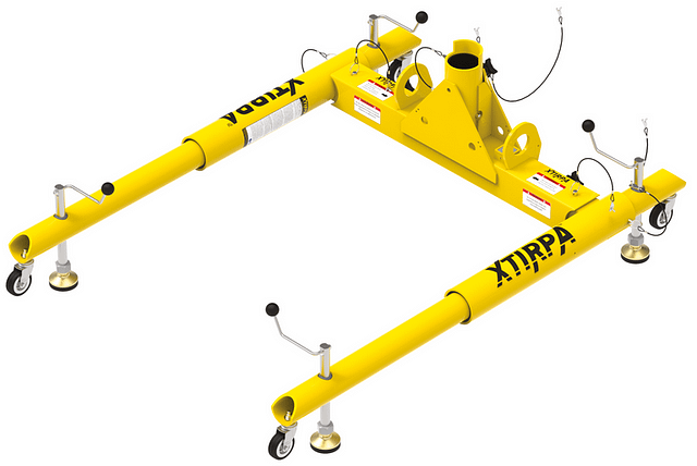 1270 millimetre H-base for confined space entry
